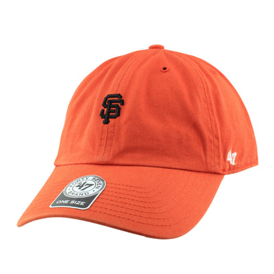 '47:San Francisco Giants Abate Clean Up Orange/Orange Slouch Strapback