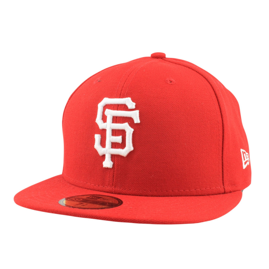 San Francisco Giants Basic Red/Red Fitted - Bespoke Cut and Sew - 1