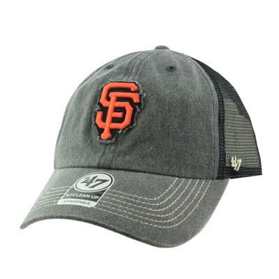 '47:San Francisco Giants Burnstead Gray/Gray Snapback