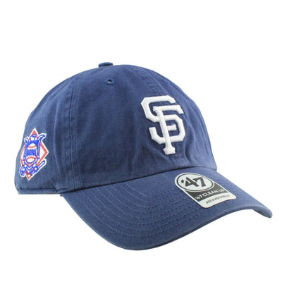 '47:San Francisco Giants Timber Clean Up Blue/Blue Slouch Strapback