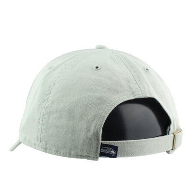 '47:Seattle Seahawks Clean Up Gray/Gray Slouch Strapback