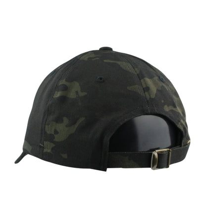 Retired Numbers:Retired Numbers Oakland Negative Black Camo/Black Camo Slouch Strapback
