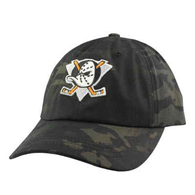 Retired Numbers:Retired Numbers Mighty Ducks Black Camo/Black Camo Slouch Strapback