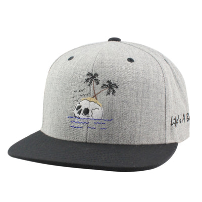 Anything Goes Anything Goes Skull Island Gray/Black Snapback