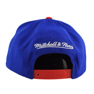 Mitchell and Ness San Diego Clippers Double Bonus Blue/Red Snapback