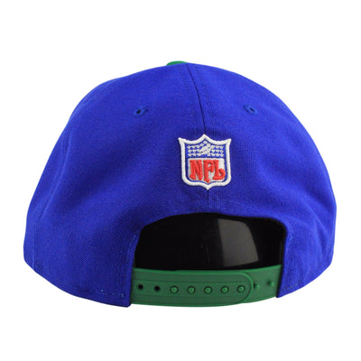 New Era Seattle Seahawks Vintage Blue/Blue Snapback