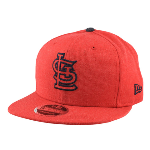 St. Louis Cardinals Heather Hype Red/Red Snapback