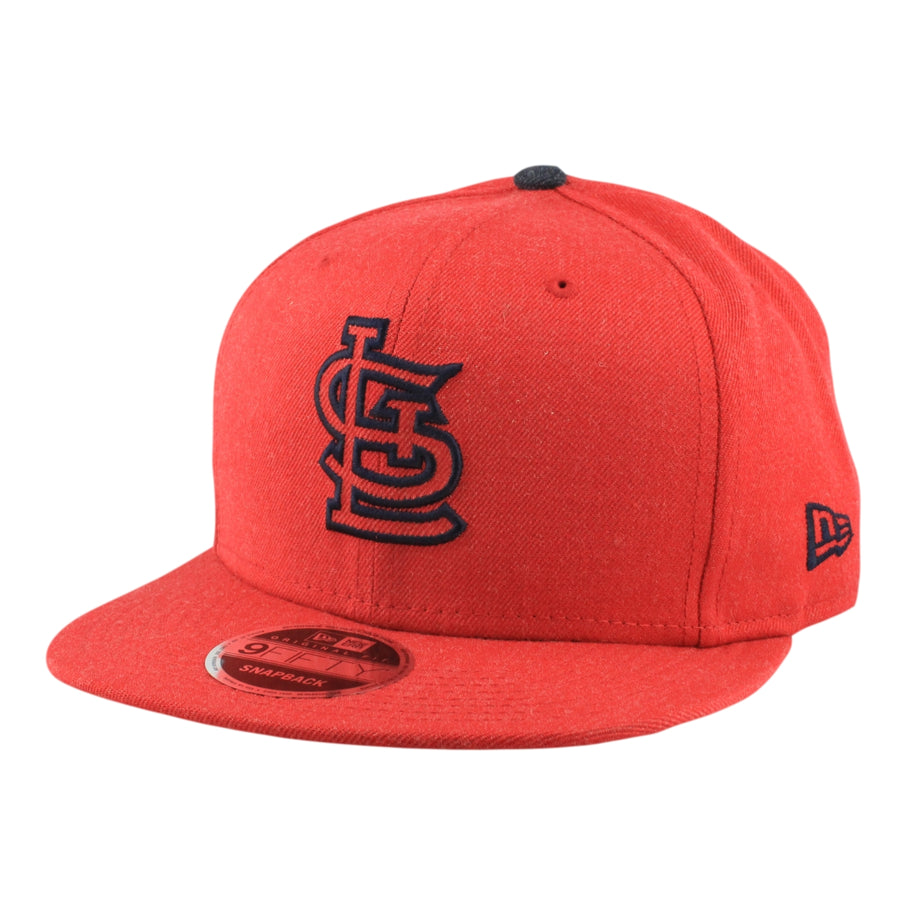 efe2ee518cb New Era St. Louis Cardinals Heather Hype Red Red Snapback
