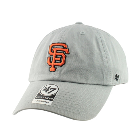 San Francisco Giants Clean Up Storm Gray/Gray Slouch Strapback