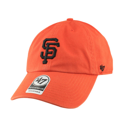 San Francisco Giants Clean Up Orange/Orange Slouch Strapback