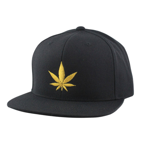 Vice Gold Leaf Black/BlackSnapback