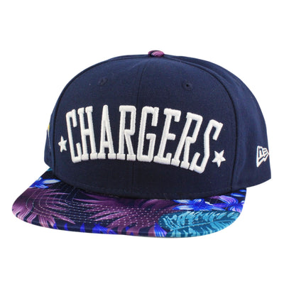 New Era San Diego Chargers Team Botanic Blue/Assorted Snapback