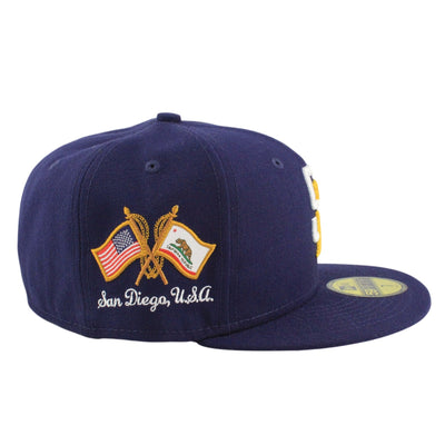 New Era San Diego Padres Hometown Clas Blue/Blue Fitted