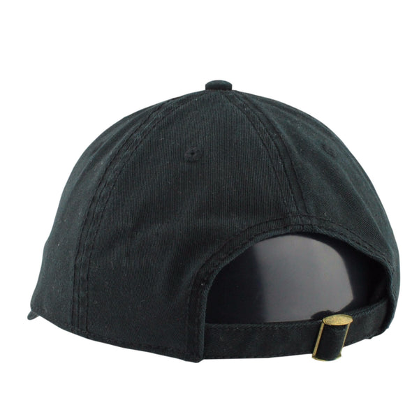Retired Numbers, Retired Numbers Feathers Black/Black Slouch Strapback - Bespoke Cut and Sew