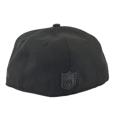 New Era San Diego Chargers All Black/Black Fitted