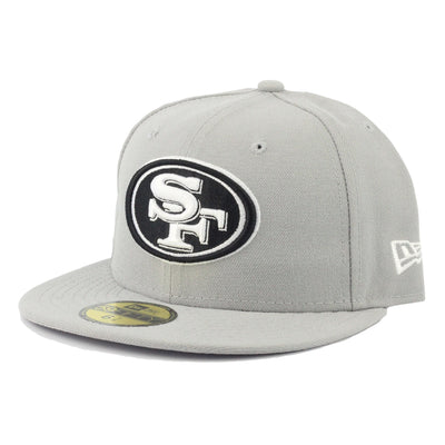 New Era San Francisco 49ers Gray/Gray Fitted