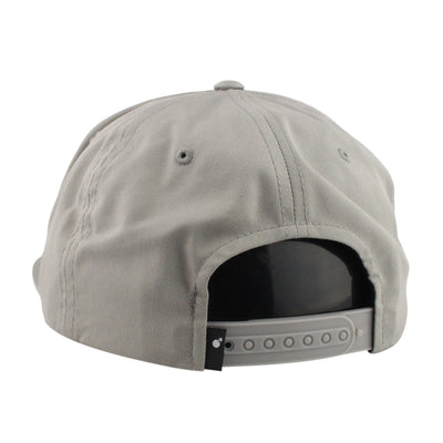 The Hundreds The Hundreds Script Gray Gray Unstructured Snapback 6b401a0d0dfb