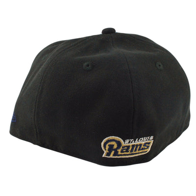 New Era St. Louis Rams Black/Black Fitted