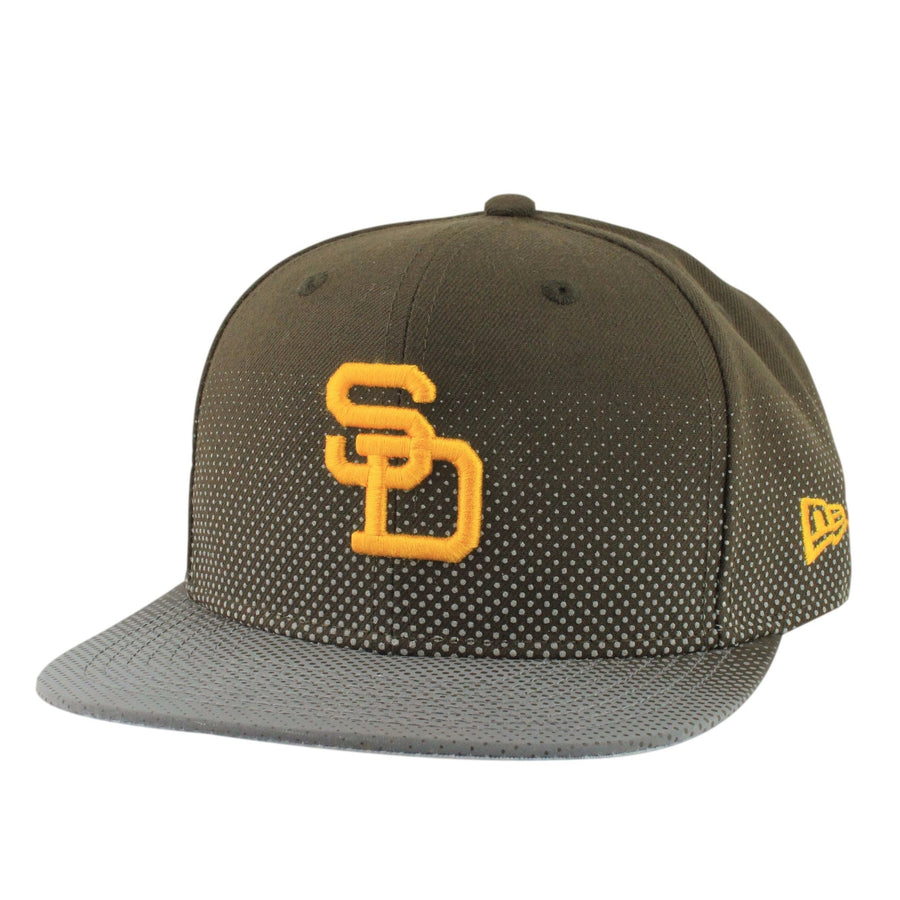 ae6f3e2c425 New Era San Diego Padres Flow Flect Brown Assorted Snapback