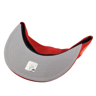 New Era San Francisco 49ers Finest Red/Red Fitted