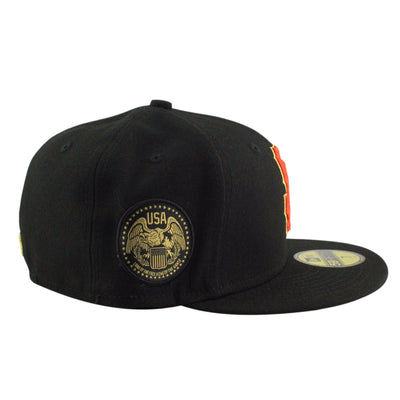 New Era San Francisco Giants Finest Black/Black Fitted