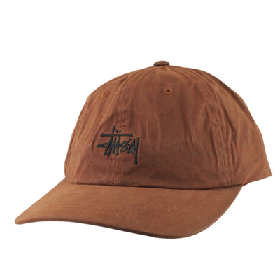 Stussy Stussy Wax Cotton Low Pro Brown/Brown Strapback
