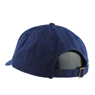 Stussy Stussy Wax Cotton Low Pro Navy/Navy Strapback