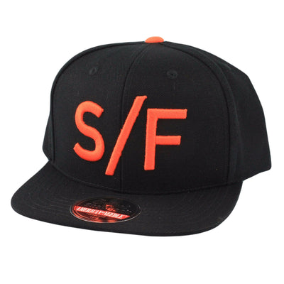 American Needle San Francisco Divided Black/Black Snapback