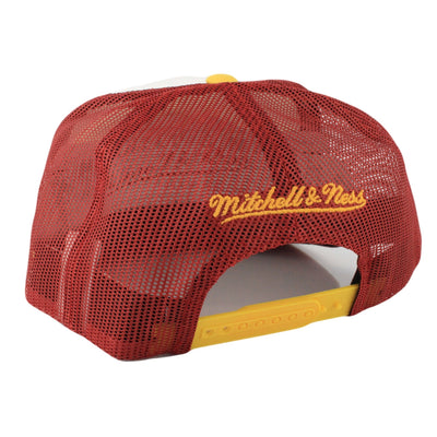 Mitchell and Ness Washington Redskins Foam Front Assorted/Yellow Trucker Snapback