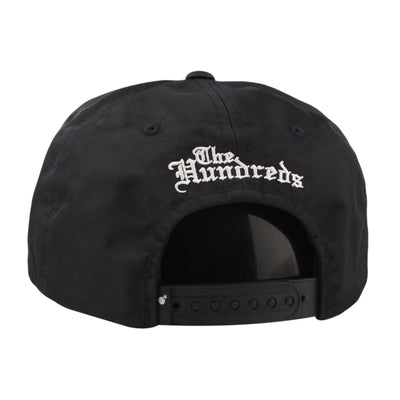The Hundreds The Hundreds Lonney Black/Black Snapback