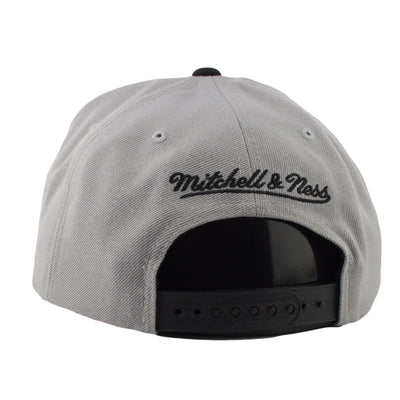 Mitchell and Ness San Antonio Spurs Reflective Tri Pop Gray/Gray Snapback