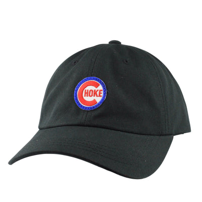 Retired Numbers Retired Numbers CHOKE Patch Black/Black Slouch Strapback