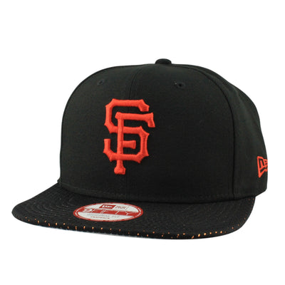 New Era San Francisco Giants Shine Through Black/Black Snapback