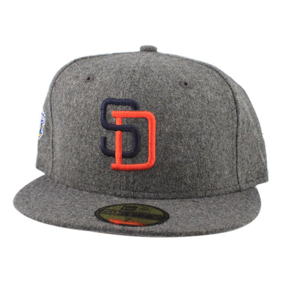 New Era San Diego Padres 1998 WS Wool Gray/Gray Fitted