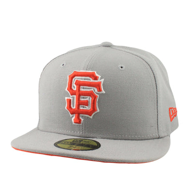 New Era San Francisco Giants State Stare Gray/Gray Fitted