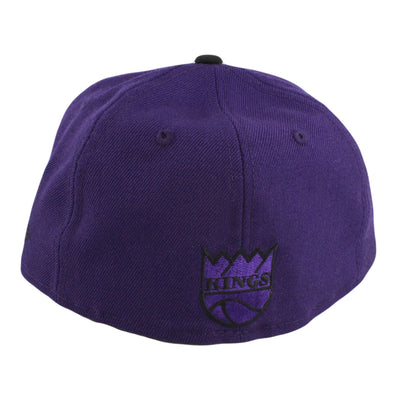 New Era Sacramento Kings HWC Logo Purple/Black Fitted