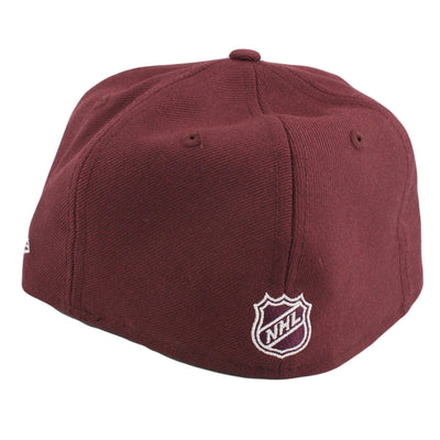 New Era San Jose Sharks Logo Plum/Plum Fitted