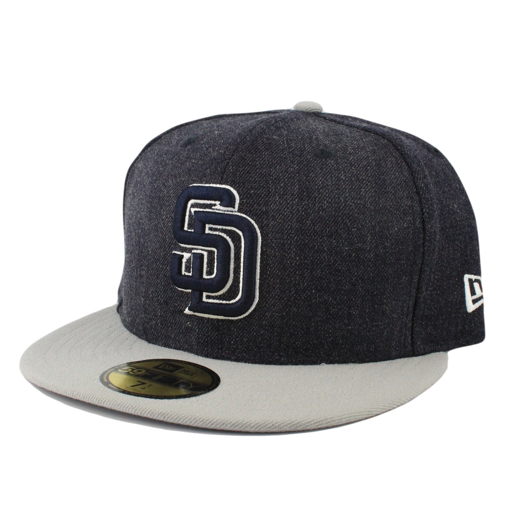 a5bdc9ed1 San Diego Padres League Denim/Gray Fitted