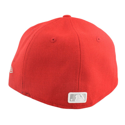 New Era San Francisco Giants White Logo Red/Red Fitted