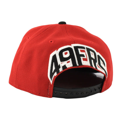 New Era San Francisco 49ers Mark Backer Red/Black Snapback
