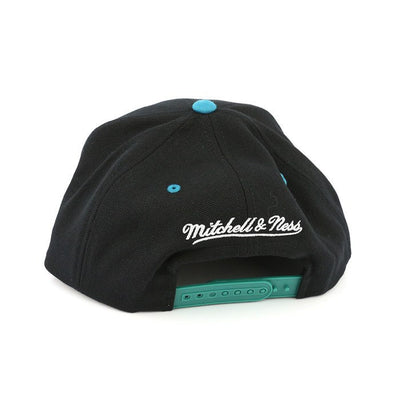 Mitchell and Ness San Jose Sharks Triangle Script Black/Blue Snapback