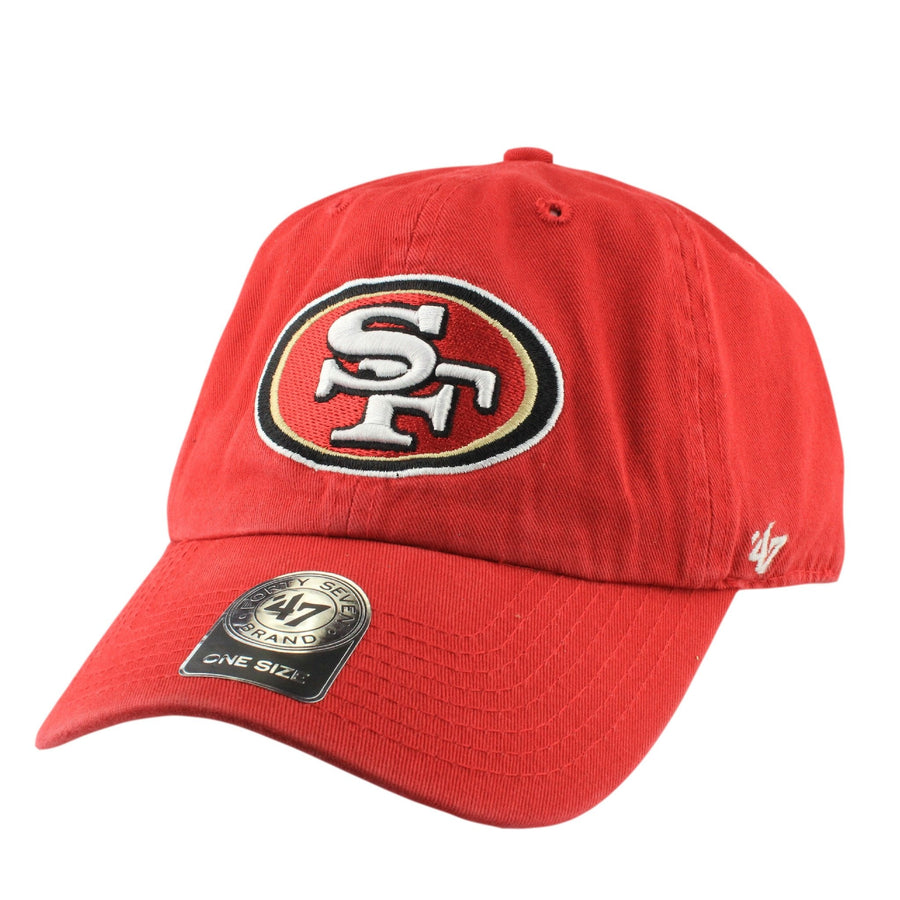 a77a2dd9e0a  47 San Francisco 49ers Clean Up Red Red Slouch Strapback