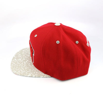 Mitchell and Ness UNLV Rebels Logo 2T Red/White Snapback