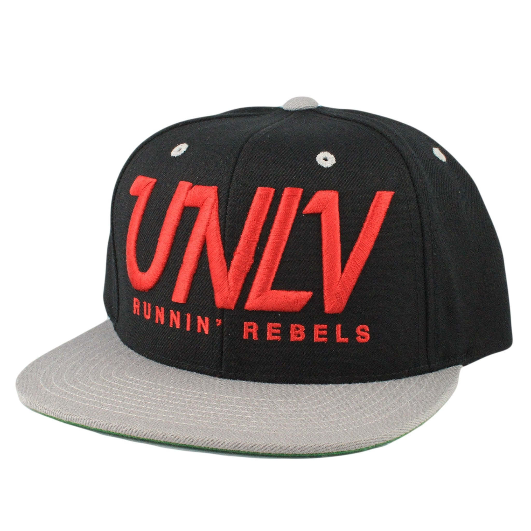 UNLV Rebels Black Gray Red Snapback  7cf410499ad5