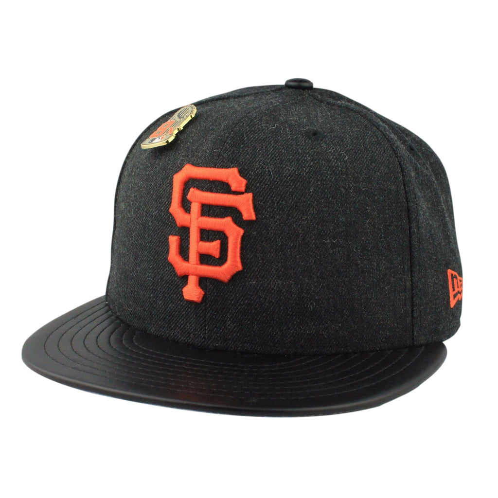 San Francisco Giants Pin Black/Black Fitted - Bespoke Cut and Sew - 1