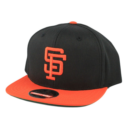 American Needle San Francisco Giants Outfield Black/Orange Snapback