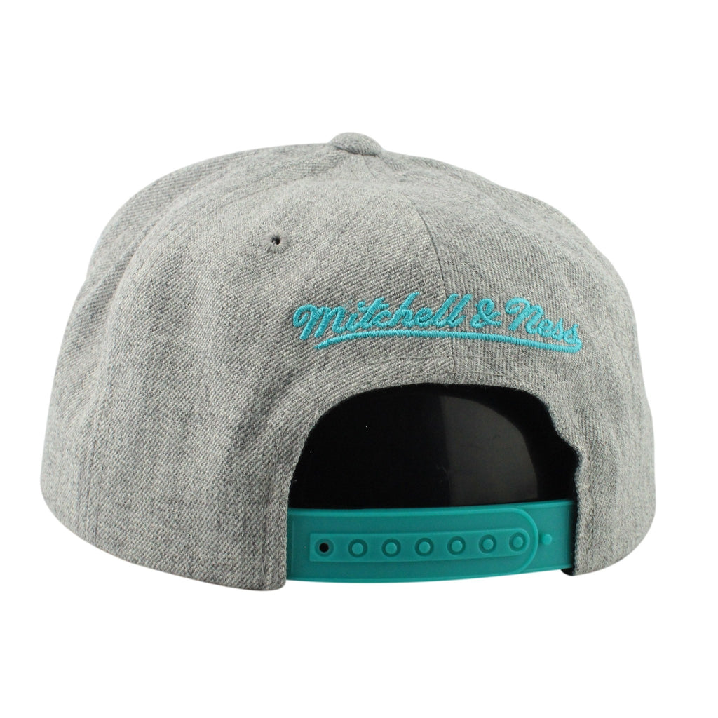 San Antonio Spurs HWC Tri Pop Special Script Gray/Gray Snapback - Bespoke Cut and Sew - 2