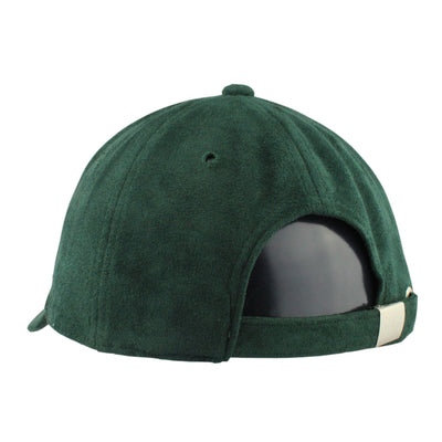 Vice Vice Rose Gold Leaf Suede Green/Green Slouch Strapback