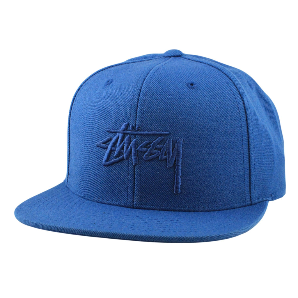 Stussy Stock HO16 Blue/Blue Snapback - Bespoke Cut and Sew - 1