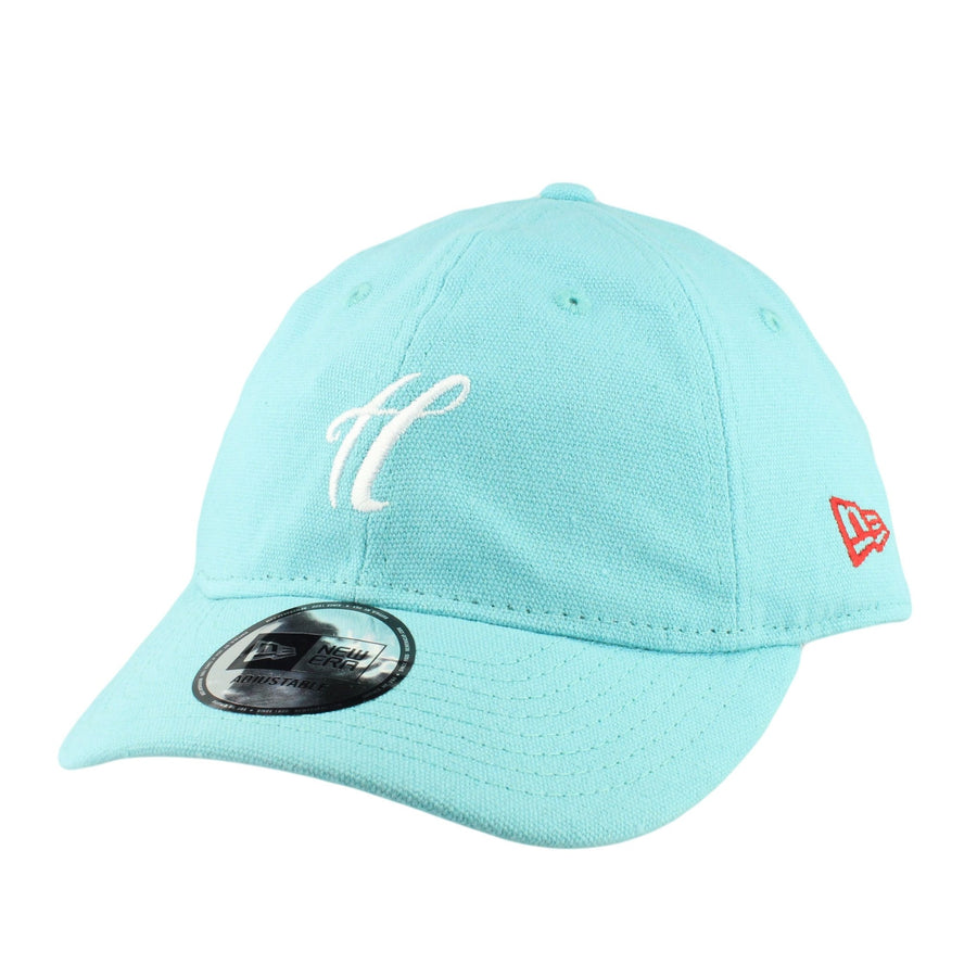 a68554d4 The Hundreds The Hundreds New Era Signature Turquoise/Turquoise Slouch  Strapback